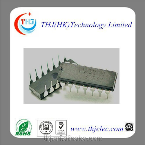 100% new original electronic new IC LM324 DIP14