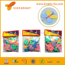 Best-price Cute Kids DIY TOYS,Puzzle 3D Kids Diy Eva Foam Sticker,Number & Letter EVA sticker