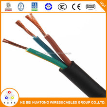 450/750V copper 1.5m 2.5mm PVC Electrical Cable Specifications