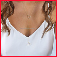 925 Sterling Silver Light Weight Triangle