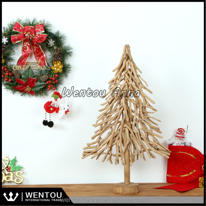 Wholesale Artificial Wooden Christmas Tree