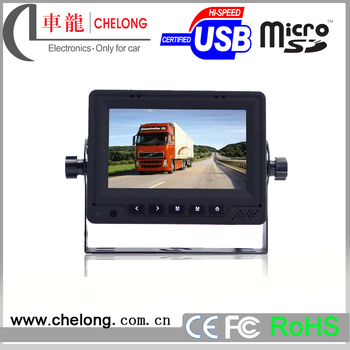 New Digital panel 1080p OEM cctv 5 inch rear view car av input mini lcd monitor