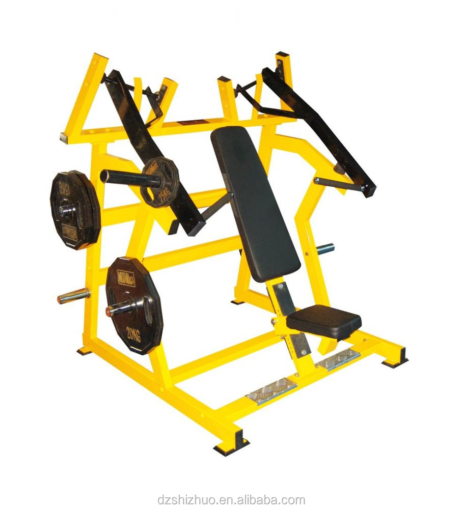 Plate loaded gym equipment Super Incline Press HZ15/bench press dimensions/incline bench press