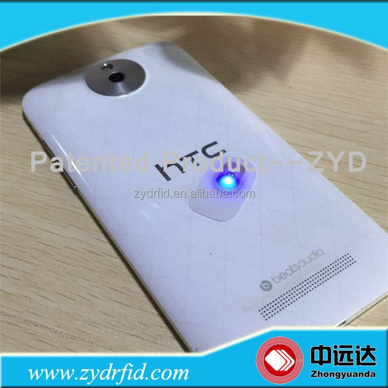 Smart NFC mobile phone led light sticker for HTC One M7