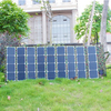 120W 18V Portable solar panel charger , foldable fabric solar panel