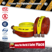 1 inch Small Diameter Used Fire Resistant Flexible Rubber Layflat Hose
