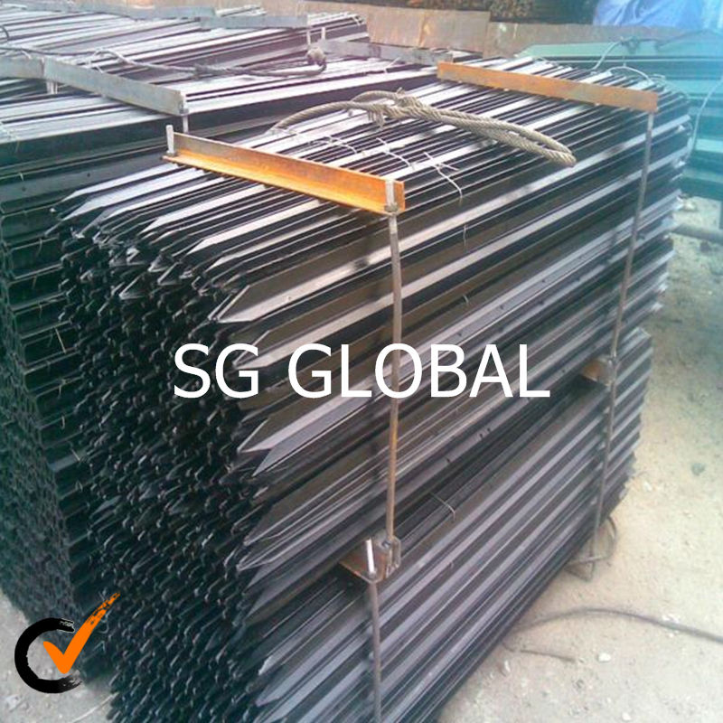 10 ft steel fence t type fence post