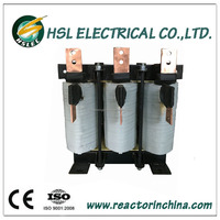 Three phase power output inductor coil