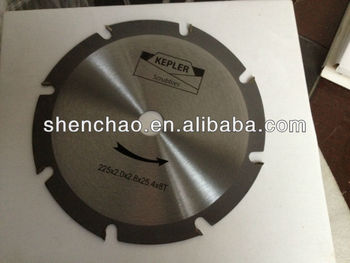 225mm hig quality TCT saw blade
