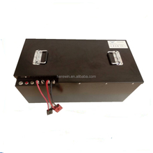 china supplier 48volt lithium car battery pack rechargeable 48v 120ah forklift LiFePo4 bms battery