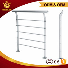 Stainless Steel Tubular Handrail Outdoor Stainless Steel Hand Railings For Stairs