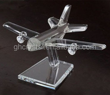 Exquisite Crystal Gift Crystal plane or Office Decoration Crystal Business gift