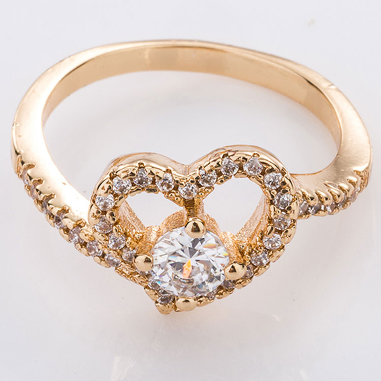 List Manufacturers of Gemstone Heart Rings Buy Gemstone Heart