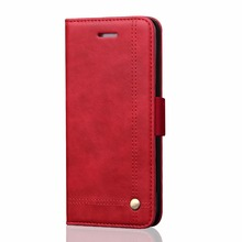 For Samsung Galaxy Note 8 Cover Case Retro Crazy Horse Texture Case For Samsung Note 8 Leather Wallet Case MT-6633
