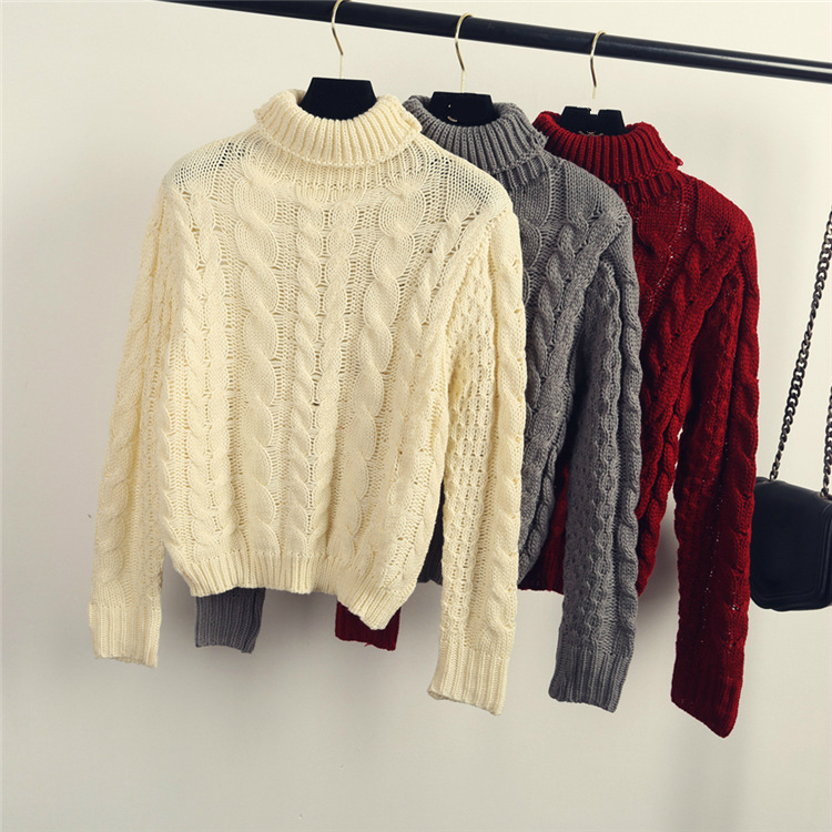 Top selling new design latest sweet ladies winter sweaters