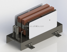 Cross belt sorter double sided three phase linear induction motor