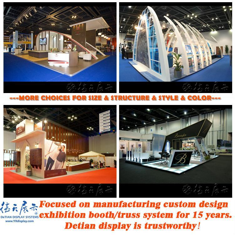 High quality exhibit fair stands with competitive price