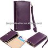 Slim Purple Flip Designer PU Leather Smartphone Wrist-Let Cover Pouch Bag Guard,Leather cases for iphone 5c