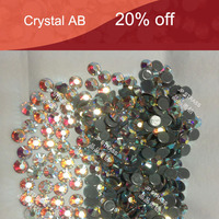 trade assurance of high quality hotfix crystal rhinestone embellishments ,crystal ab of high reflective