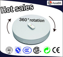 Antomatic flexible turntable three speeds 20inch/24inch/28inch Heavy Duty electric Turntable for exhibition/jewelry/ornaments
