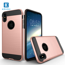 For iPhone X case for cover, Hot selling Hybrid Shockproof TPU PC Combo Case for iPhone X