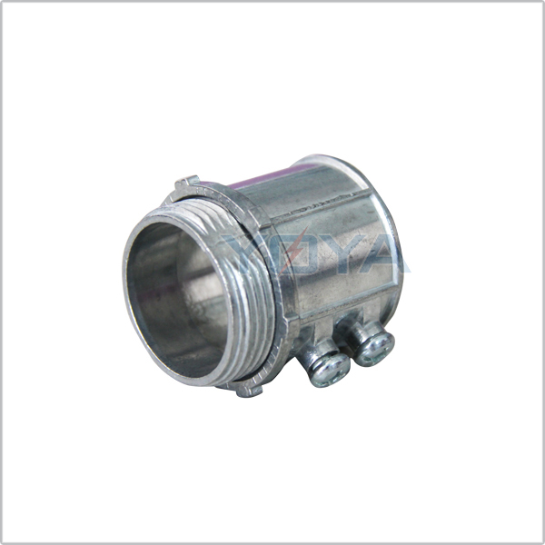 EMT Pipe Fittings Zinc Conduit Connector