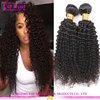 2016 Hot sale full cuticle 4c afro kinky curly human hair weave, mongolian kinky curly hair