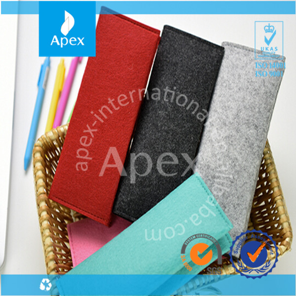 high quality custom size felt pen bag