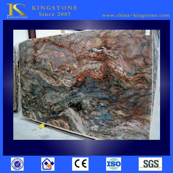 High quality brazil blue azul fusion granite slab (Direct Factory + Good Price )