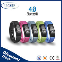 Digital pedometer/bluetooth 4.0 bracelet / fitness wristband