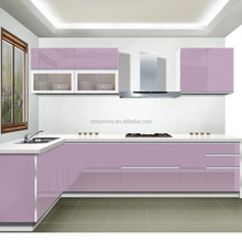 Popular new products modern mdf lacquer kitchen cabinet designs/Lacquer New Europe style kitchen