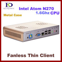 Stand alone Mini super Thin Client Nettop HTPC, Mini PC with Intel Atom D2550 1.86Ghz, 1GB RAM, 8GB SSD, 32 Bit, 720P HDMI