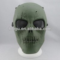 China supplier airsoft tactical plastic army men paintball mask