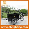 hot sale three wheel electric cargo bike for adults with high quality