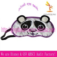Cute panda design eye mask for party