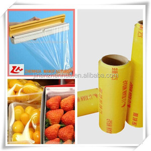 hot sale pvc food packaging plastic wrap,thick film