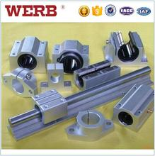 High accuracy tbr series aluminium linear motion guide rails for elevators