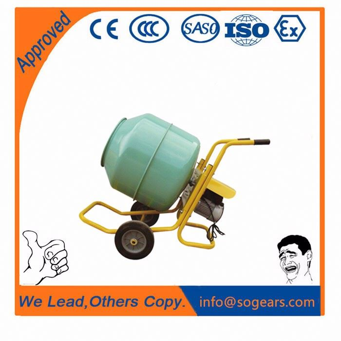Cheap price 2016 new 350l two wheels forced type concrete mixer