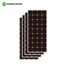 Sunway cheap price per watt yingli solar panel 150w for home system