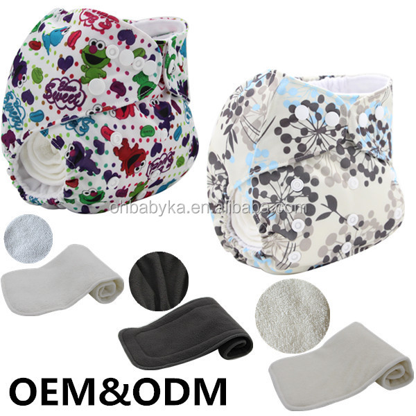 Ohbabyka reusable one size baby komfy diapers factory