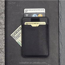 Slim Card Sleeve Wallet with RFID Protection Top Quality Italian Leather Ultra Thin Card Holder Design For Up To 10 cards