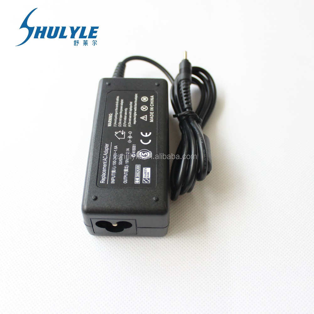 19V 2.1A Replacement Laptop / Netbook AC DC Adapter / Charger FOR SAMSUNG NC10 & NC20 N110, N120, N130, N140 Battery Power