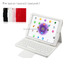 For iPad Pro 2017 Keyboard Case, PU Leather Flip Case Bluetooth Keyboard Smart Cover for iPad 5/6/7 Tablet