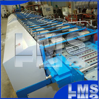 LMS cable tray high speed scaffolding walk board roll forming machine
