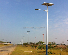 solar light with timer,30w 40W 50W 60w 80w 100w solar street light with pole