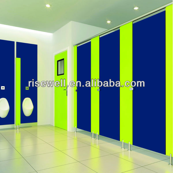 DEBO hpl 12mm compact laminate cubicle toilet cubicle