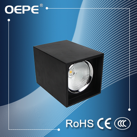 10w led downlight square cob led downlight surface mounted led downlight