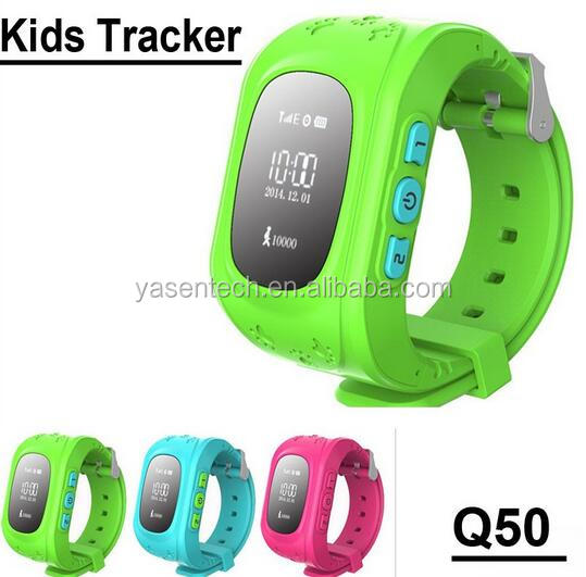 OLED screen kids GPS q50 smart watch Tracking SOS Help Security Device for Children Smart Watch