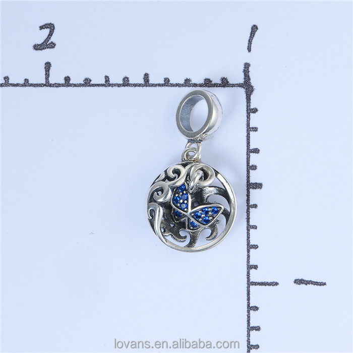 Distributors Canada Butterfly Jewellery Charm Terling Silver Charm SetS403