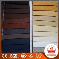 handbag leather PU Material Leathers for Sofa/soccer /car seat cover Backing Spunlace